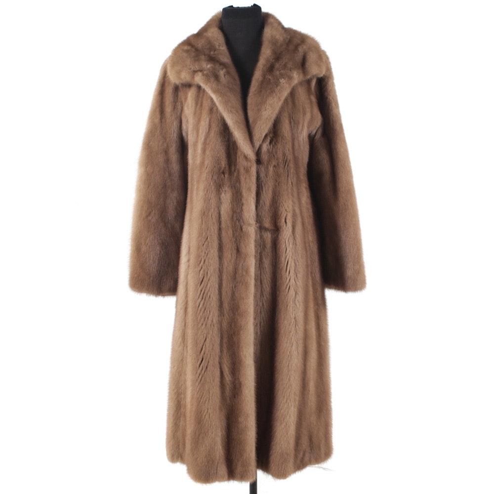 Vintage Full-Length Mink Fur Coat