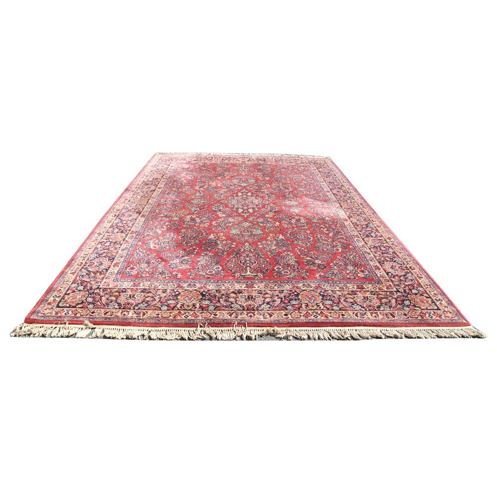 Power Loomed Persian Style Wool Area Rug