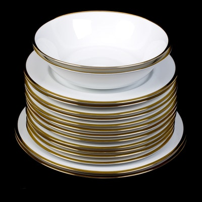 """Halo"" by Ten Strawberry Street Dinnerware Set"