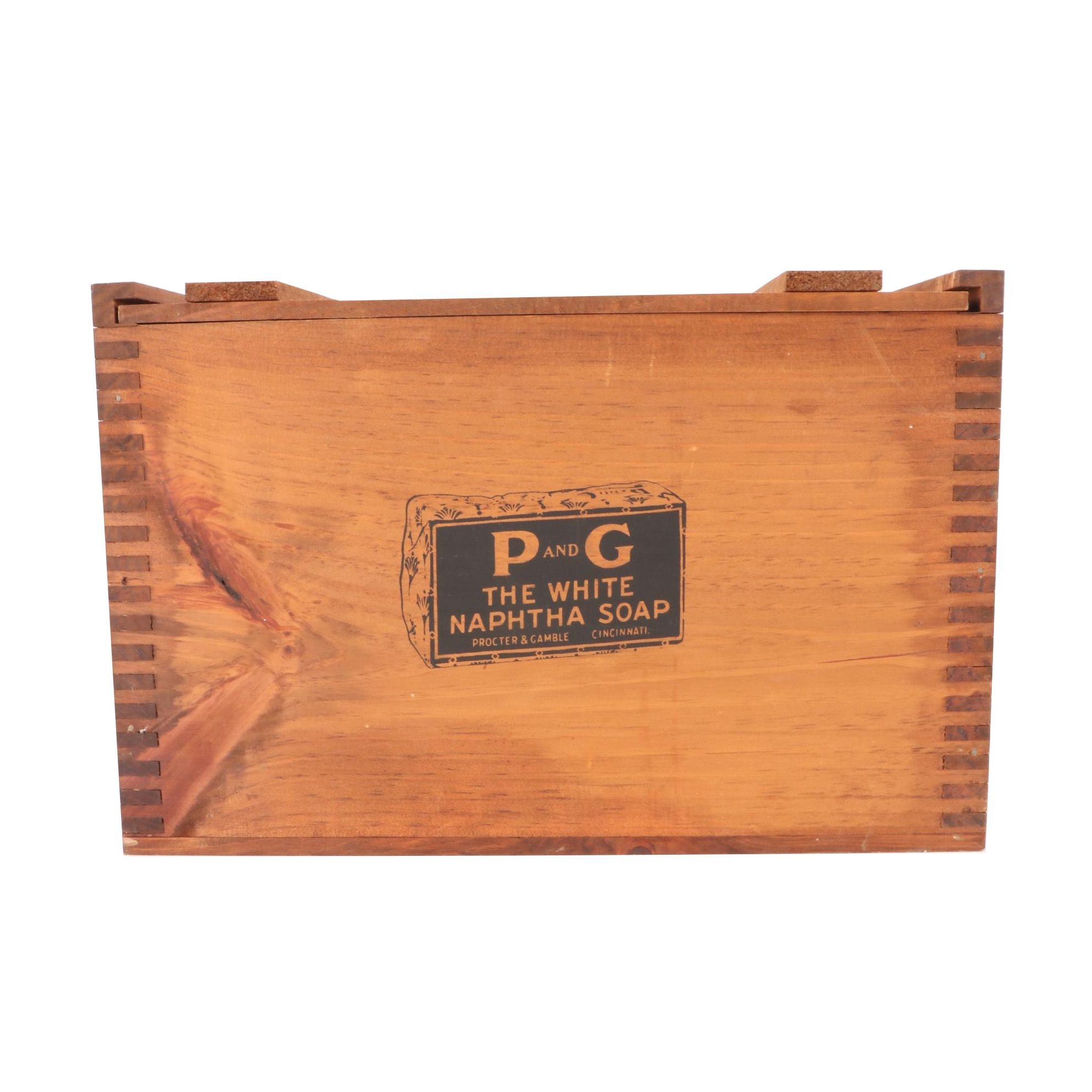 Commemorative Procter and Gamble Wood Soap Box