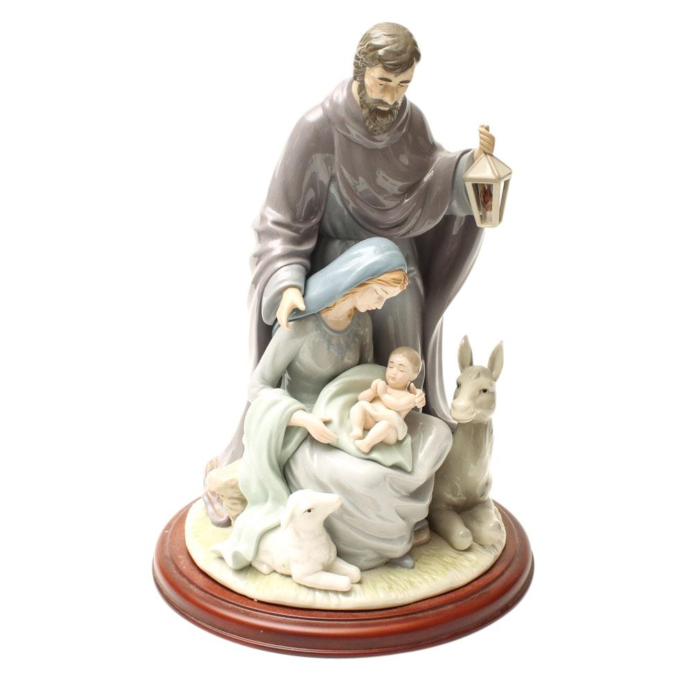 Nativity Holy Family Porcelain Figurine
