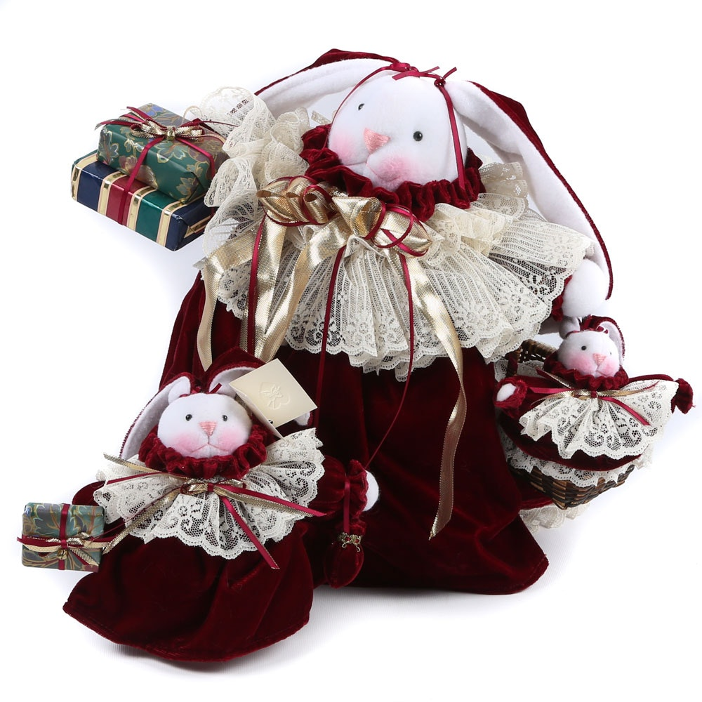 Gayle Zagami Creations Holiday Plush Dolls