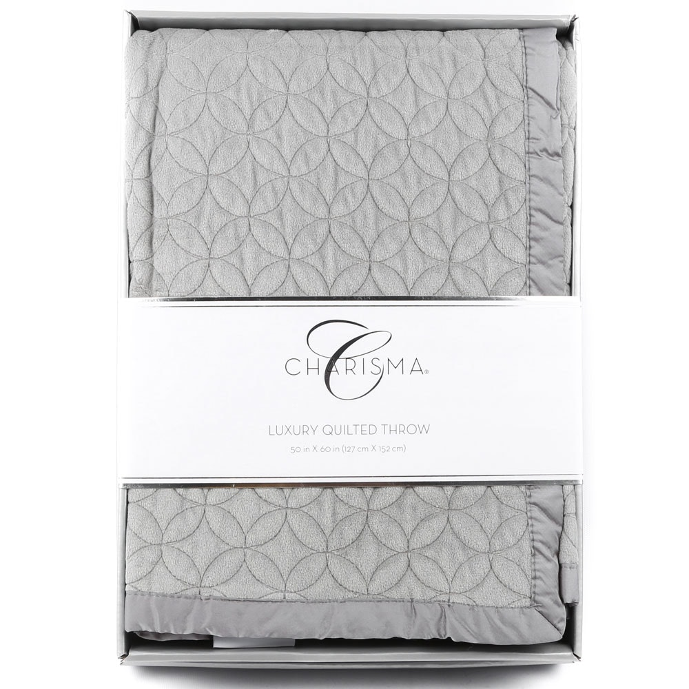 Charisma Luxury Quilted Throw