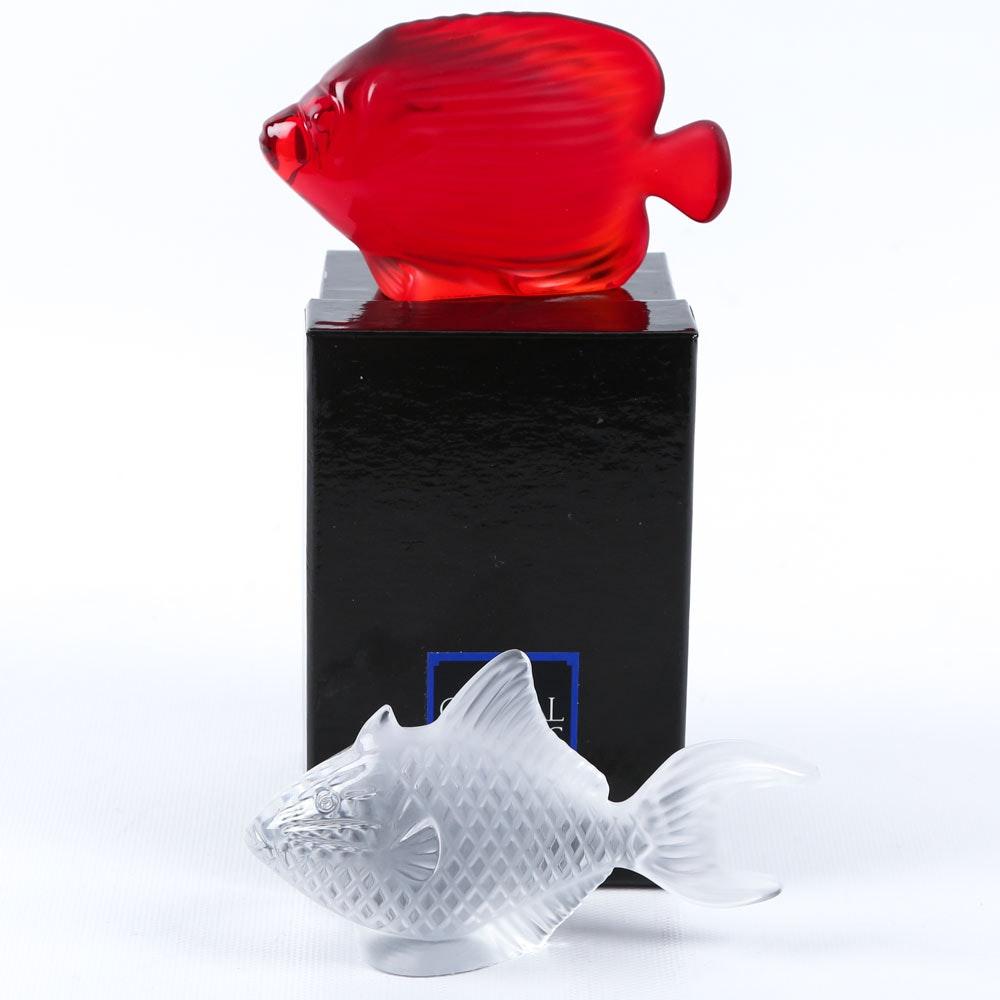 Cristal de Sévres Miniature Crystal Fish