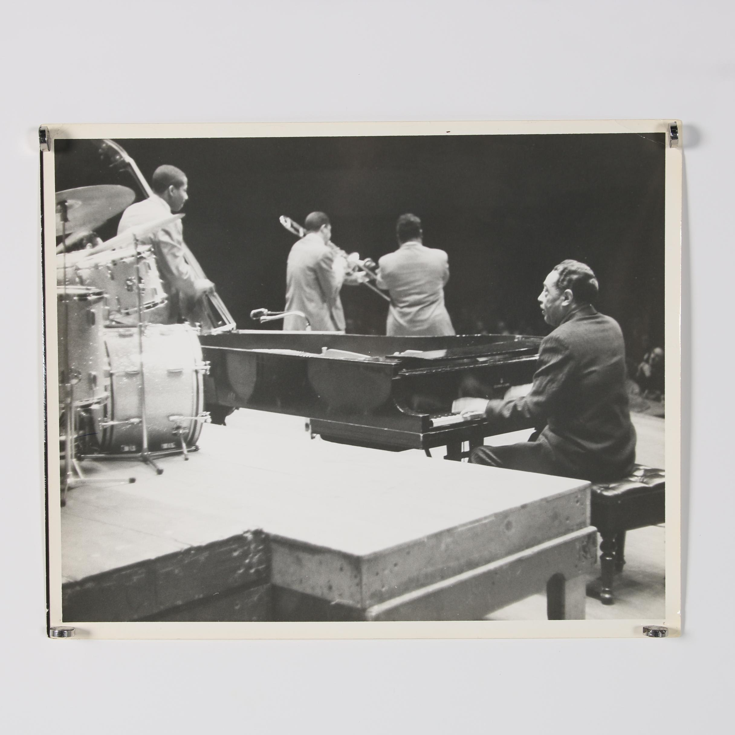 Jack Bradley Gelatin-Silver Print of Duke Ellington and Orchestra