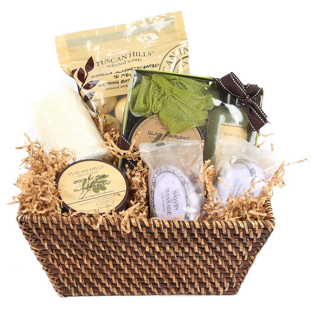 Tuscan Hills Home Bath and Spa Gift Set