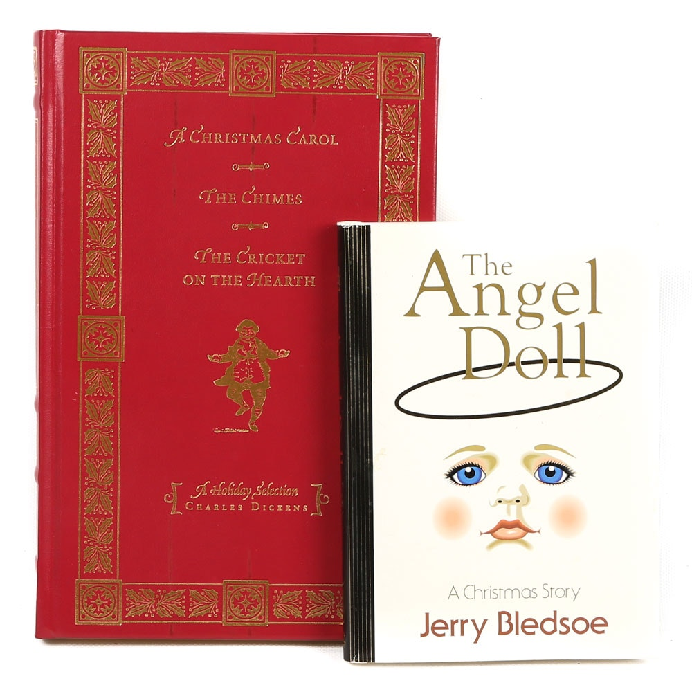 Holiday Books Featuring Charles Dickens and Jerry Bledsoe