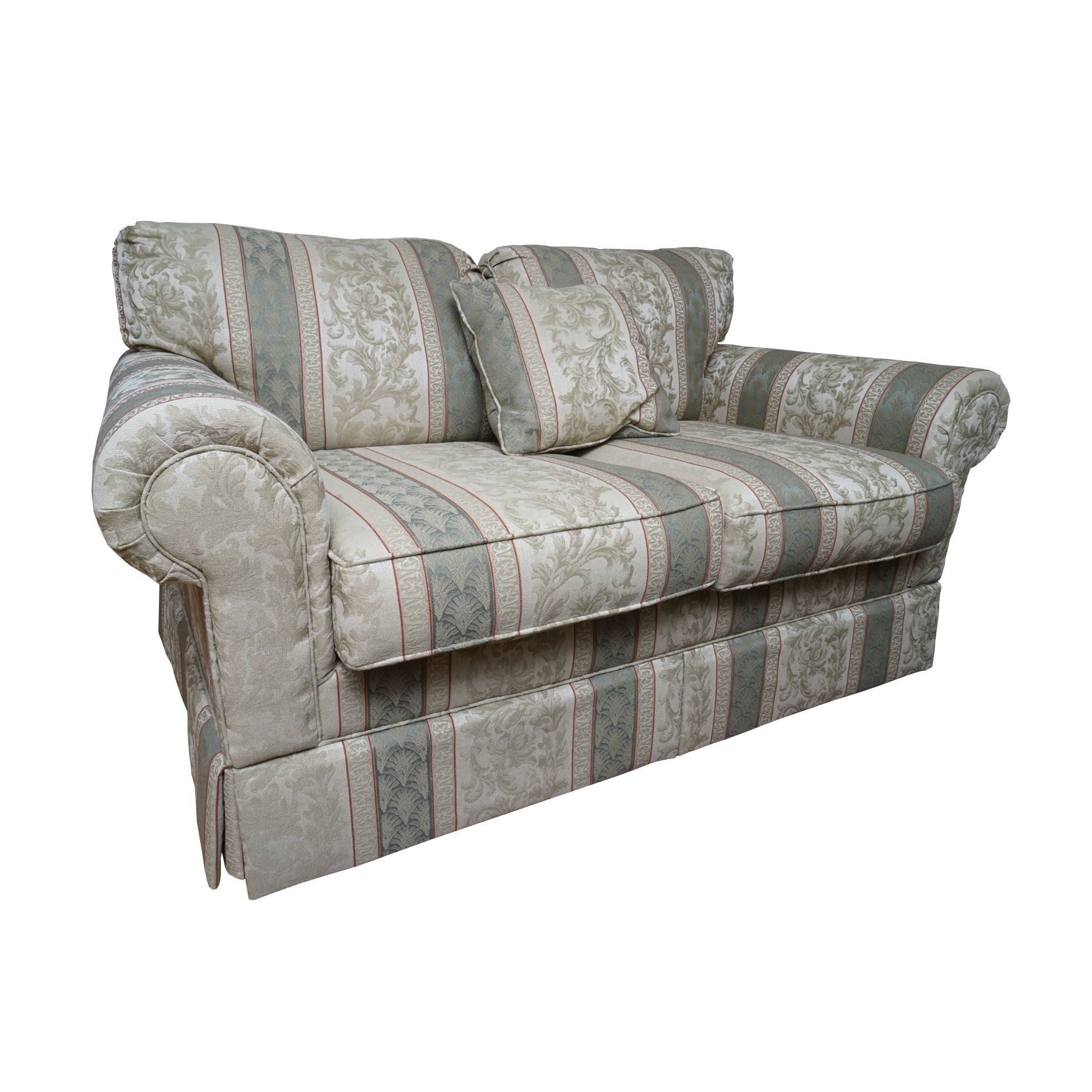 Contemporary Upholstered Loveseat by Bernie & Phyl's