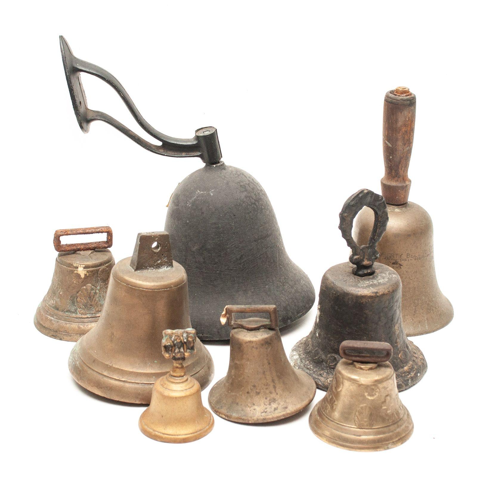 Antique Brass and Iron Bells