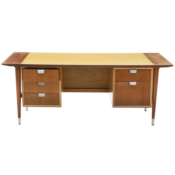 Mid Century Style Knee Hole Desk
