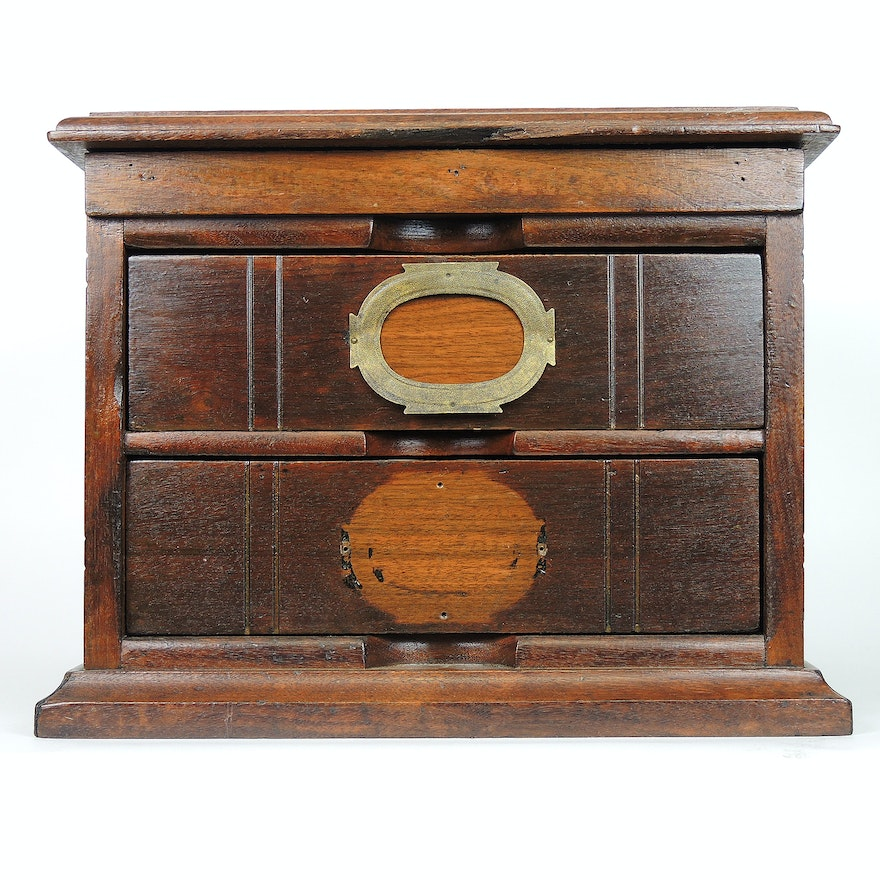 National Letter File Cabinet by John Morris Company, 19th Century