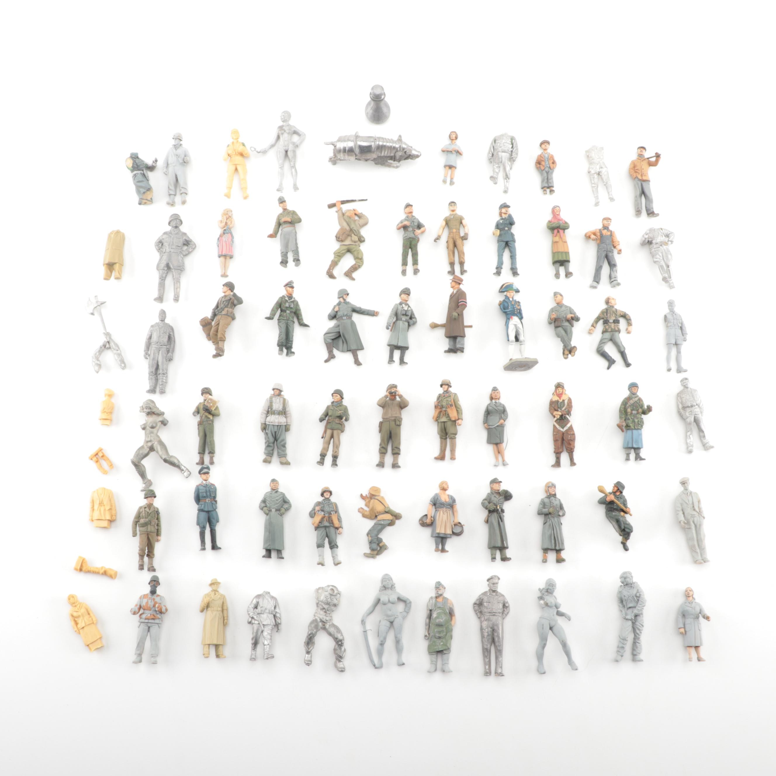 Military Personnel Diecast Miniatures and More