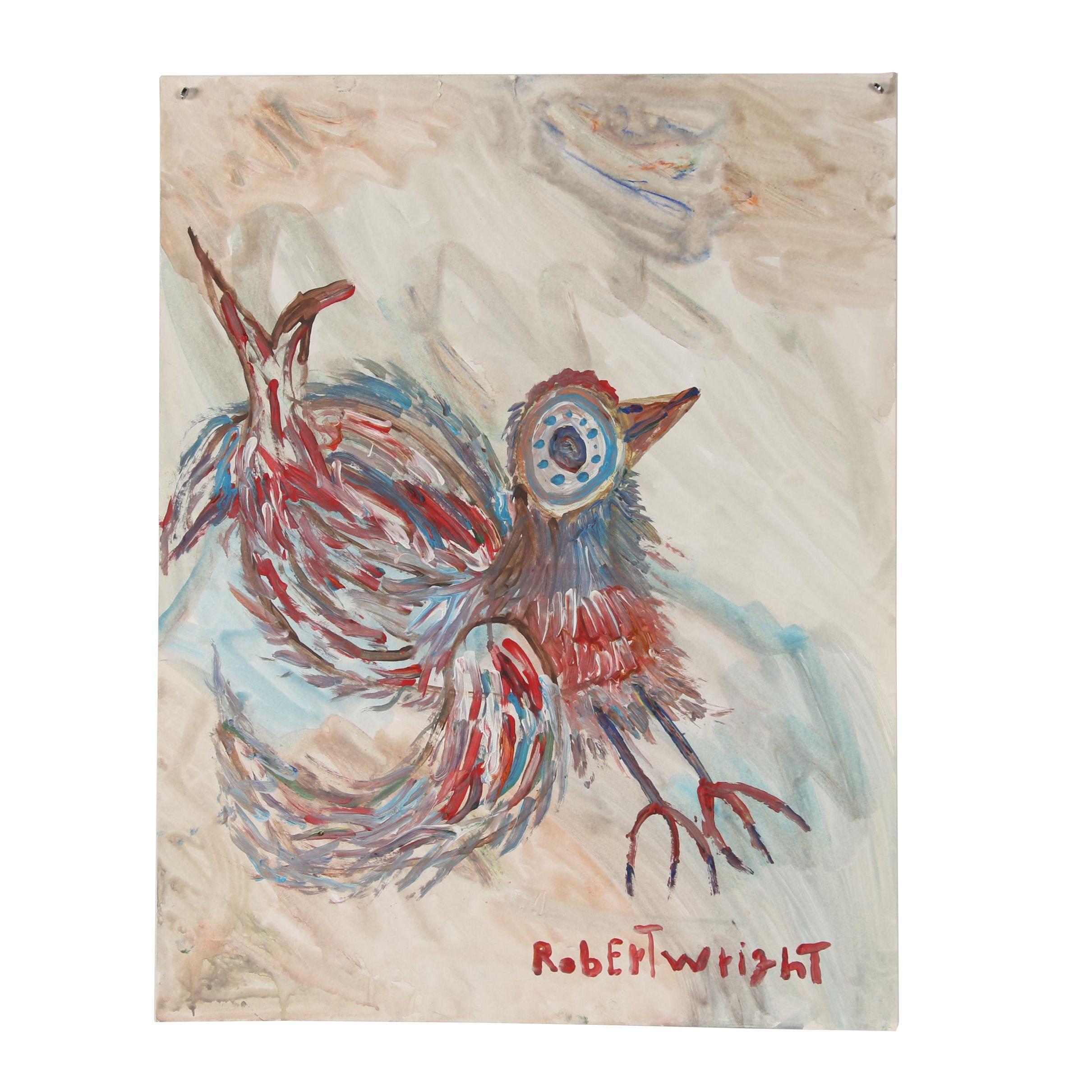 Robert Wright Acrylic Painting