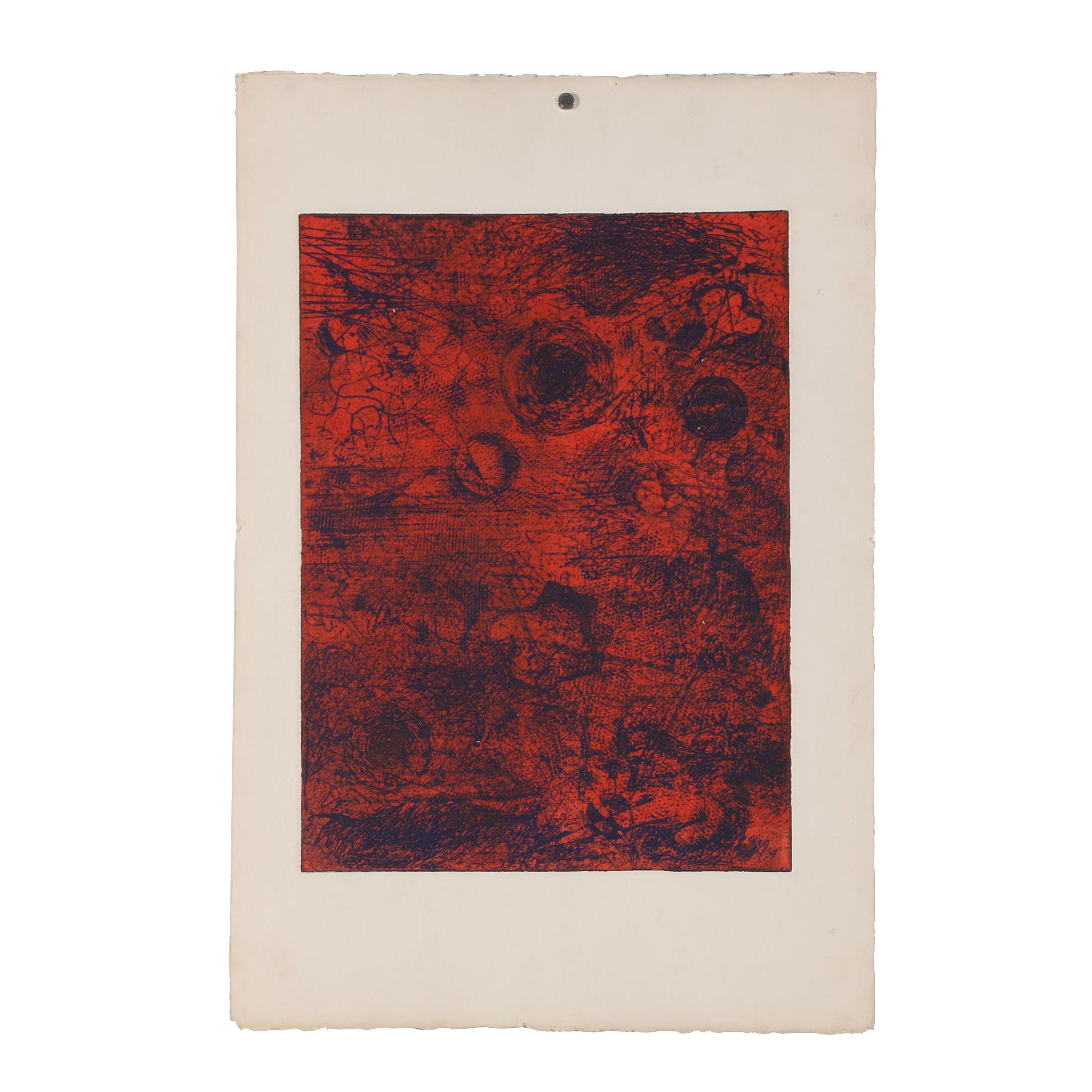 Milton Weiss Etching with Aquatint