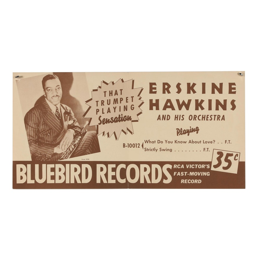 Erskine Hawkins and His Orchestra Promotional Poster