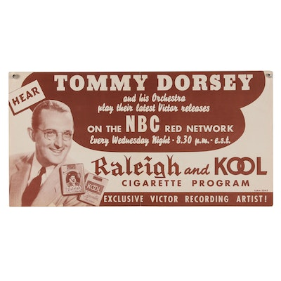 Tommy Dorsey NBC Promotional Poster