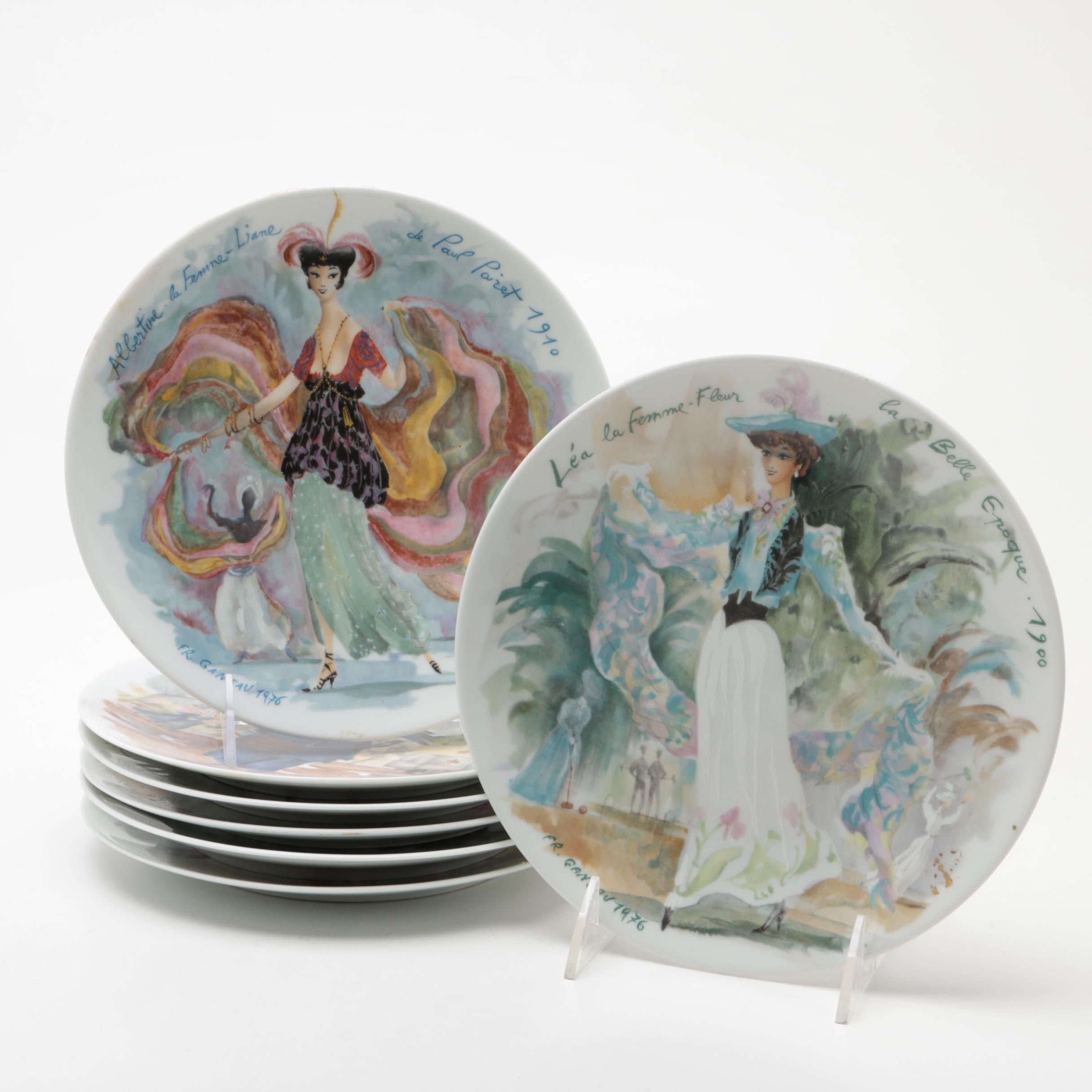 Henri d'Arceau & Fils Limoges Limited Edition Porcelain Collector's Plates
