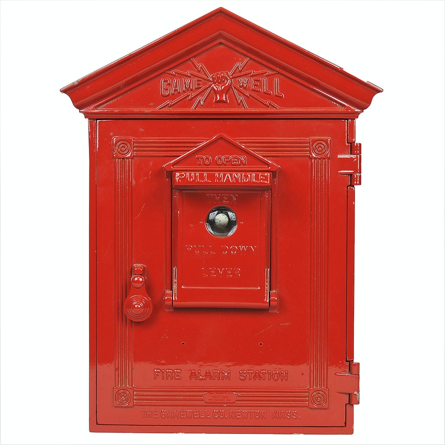"""Gamewell"" Fire Alarm Box"