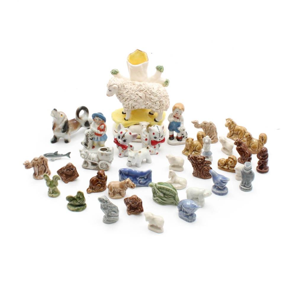 Animal Figurines Featuring Wade