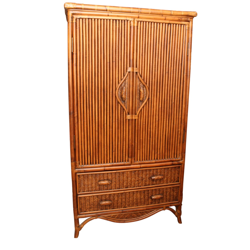 Bamboo Entertainment Cabinet