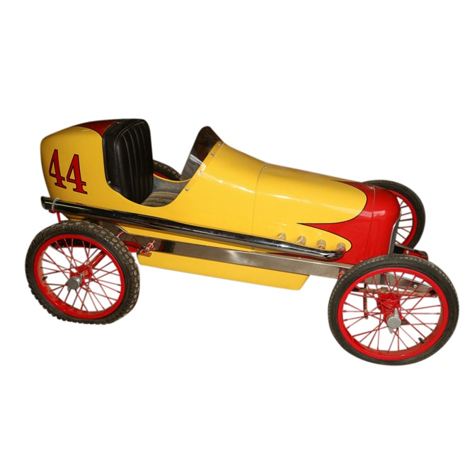 Pedal Race Car with Wire Spoked Wheels