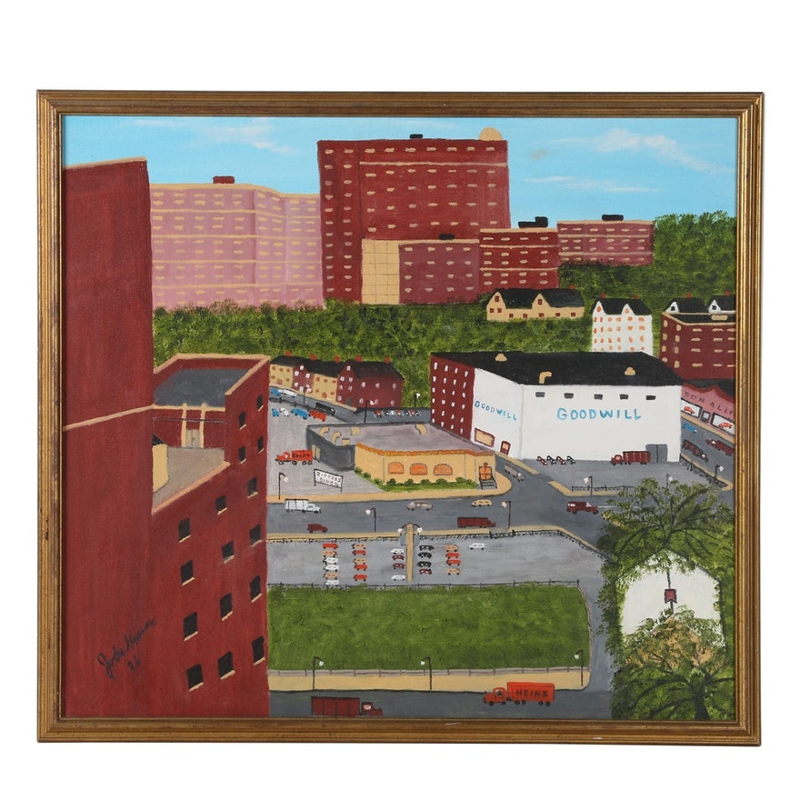 Folk Art & Fine Art from the P.J. McArdle Collection