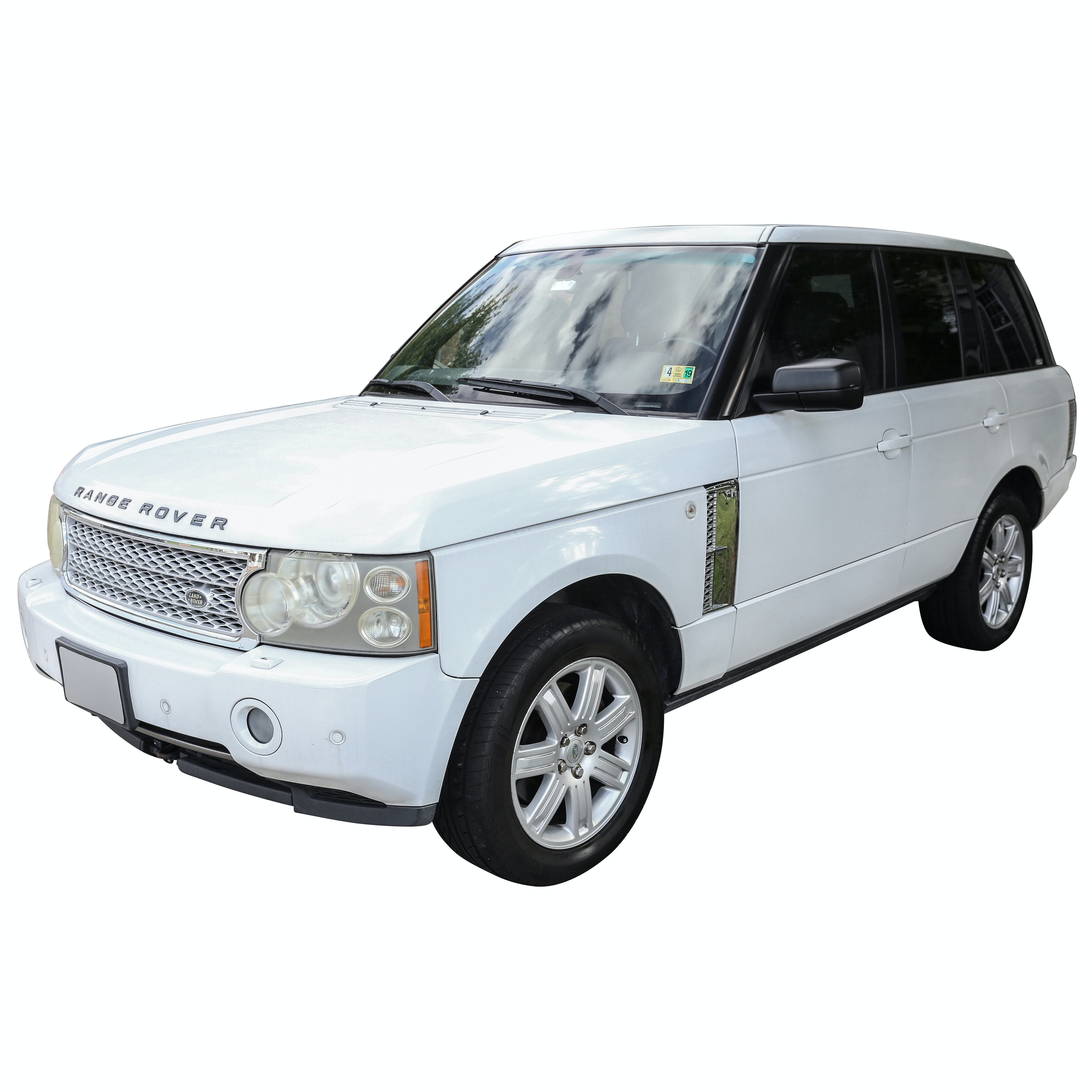 2007 Land Rover Range Rover HSE Sport Utility Vehicle