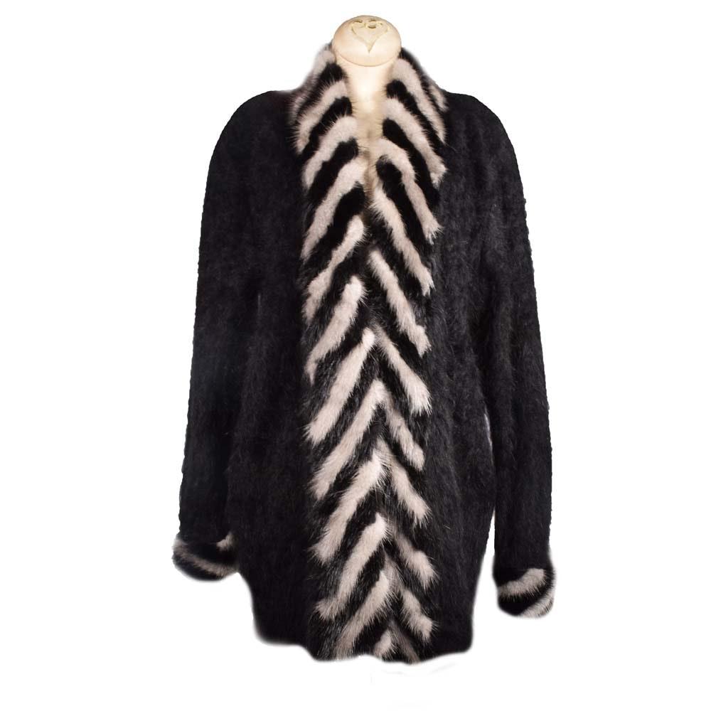 Women's Connie A. Lee Angora Knit Jacket