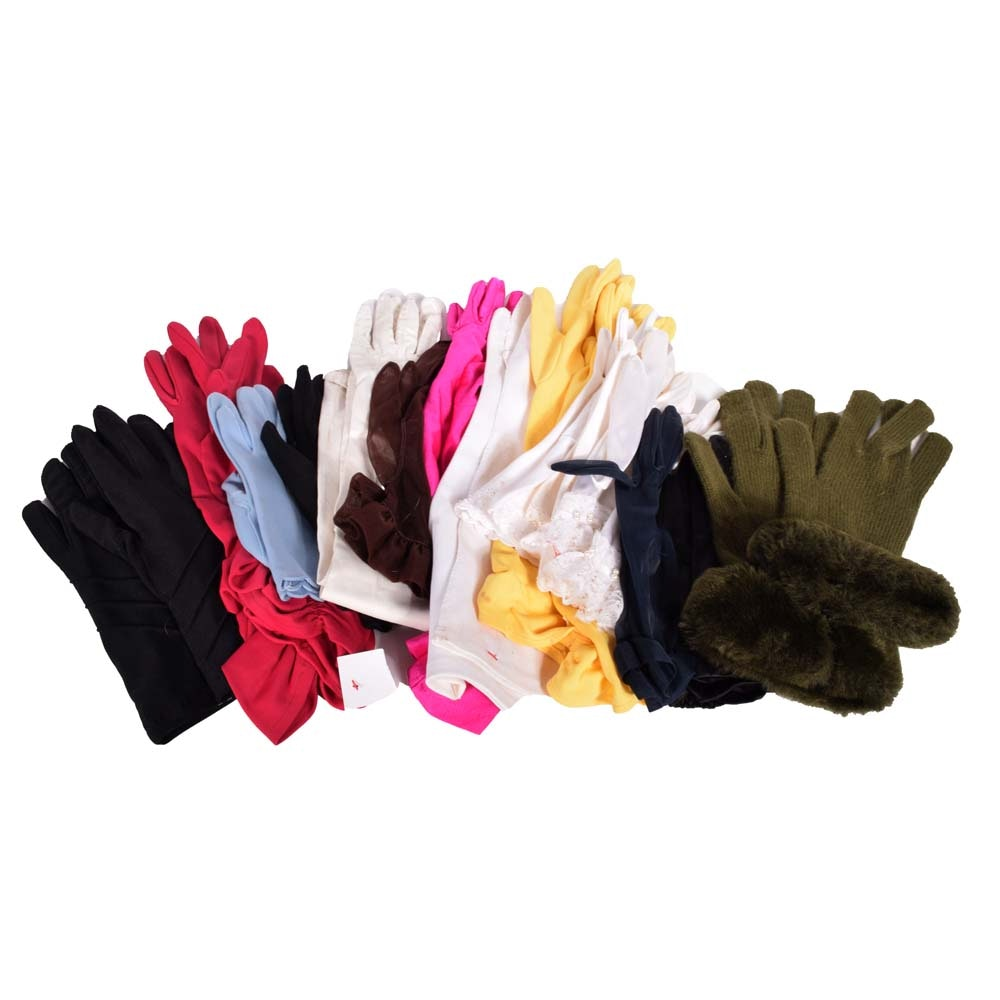 Women's Vintage Gloves