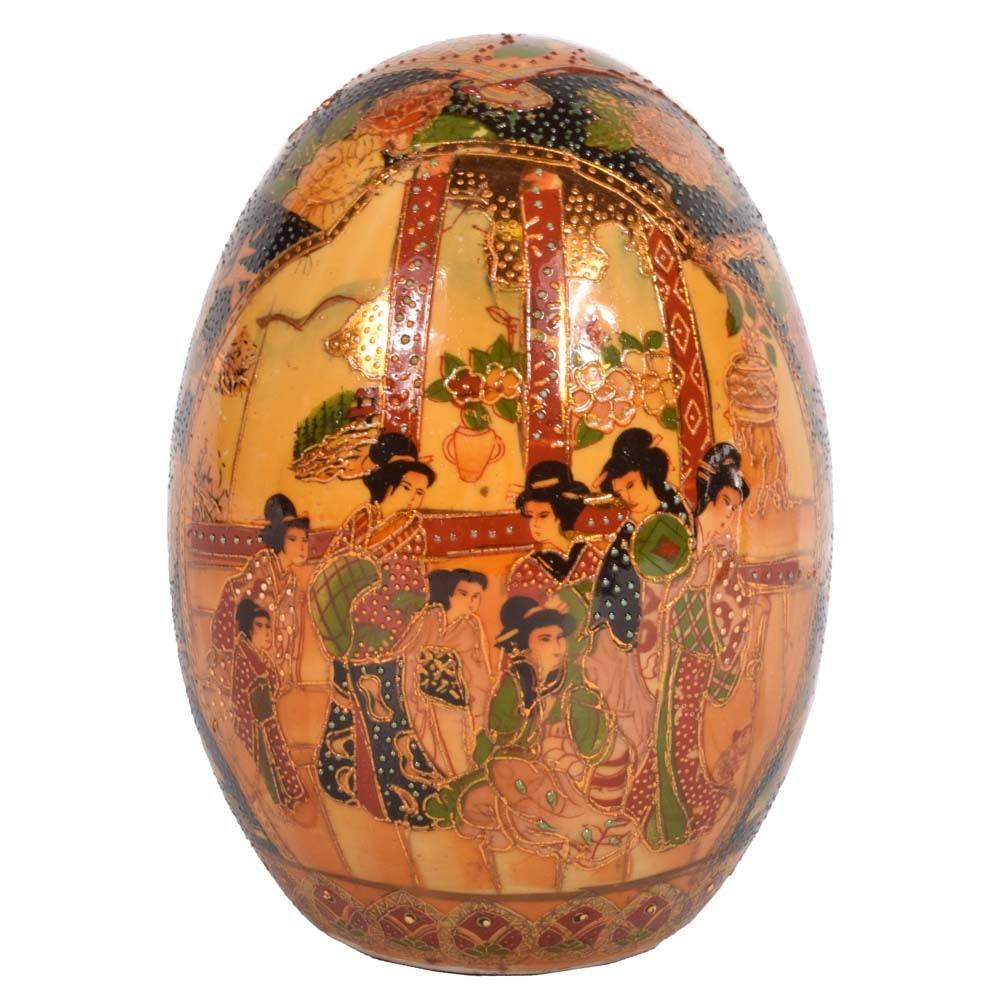 Satsuma Porcelain Egg