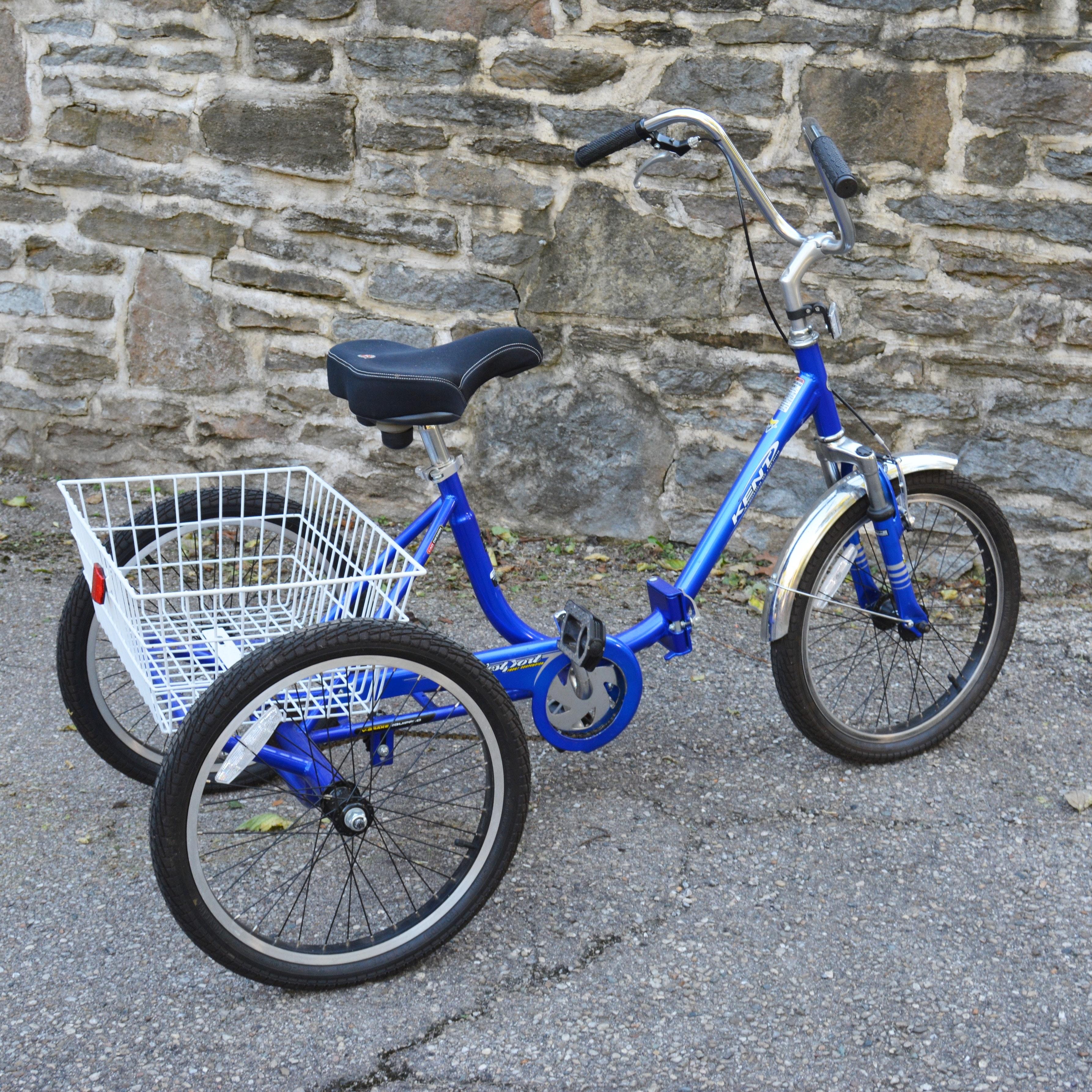 """Kent 20"""" Westport Adult Tricycle"""