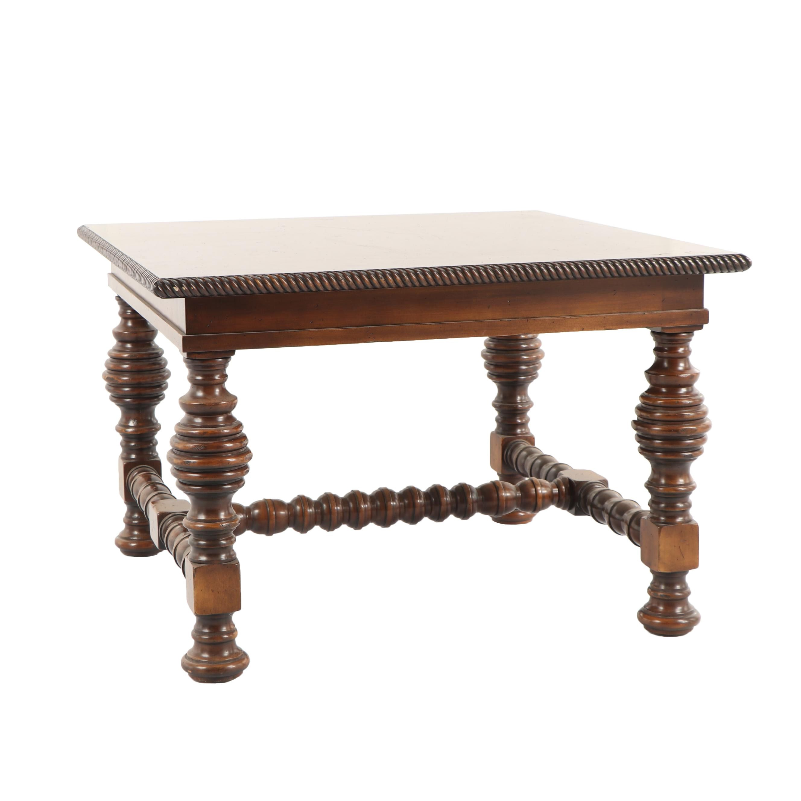 William and Mary Style Mahogany Side Table, 21st Century
