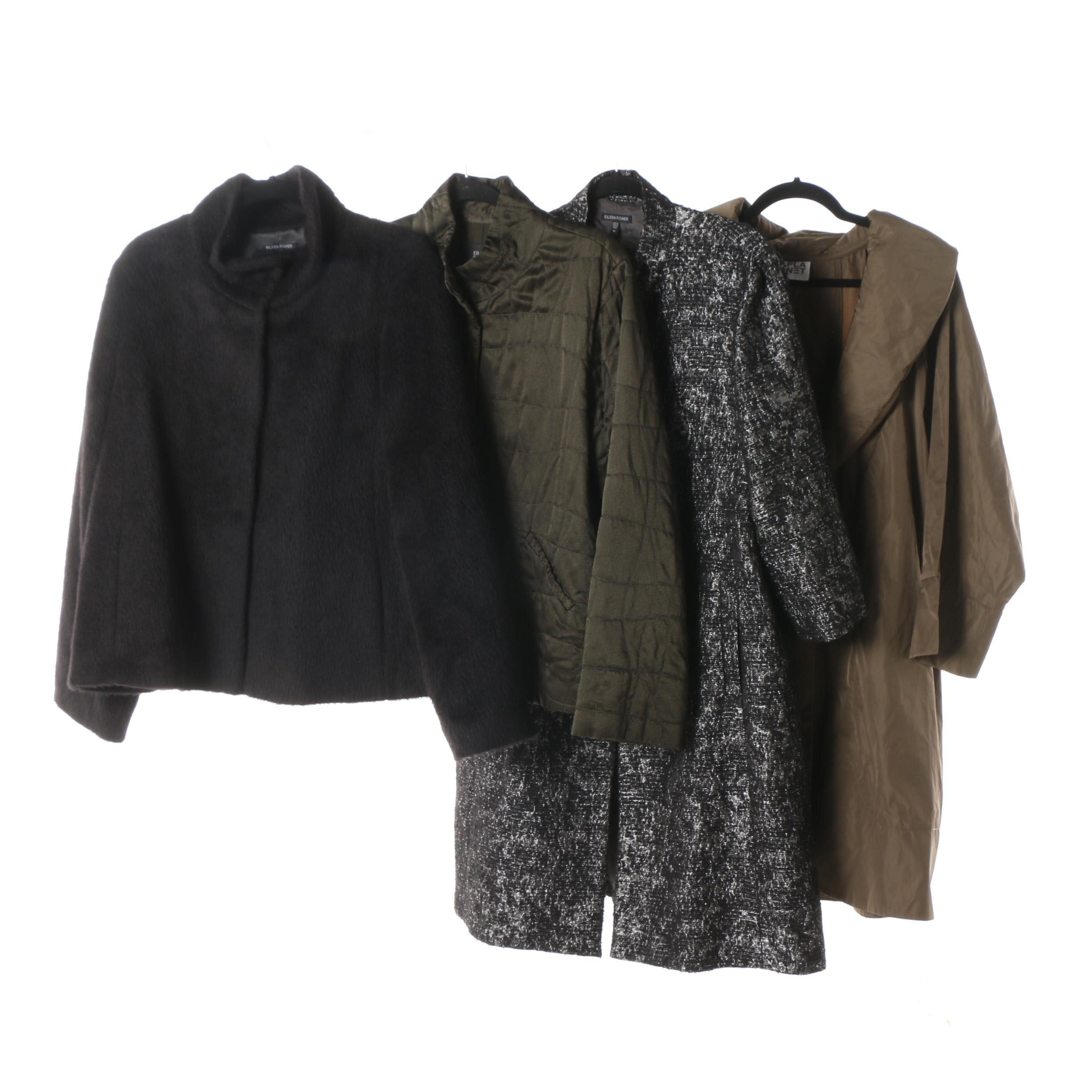 Women's Eileen Fisher and Planet Coats