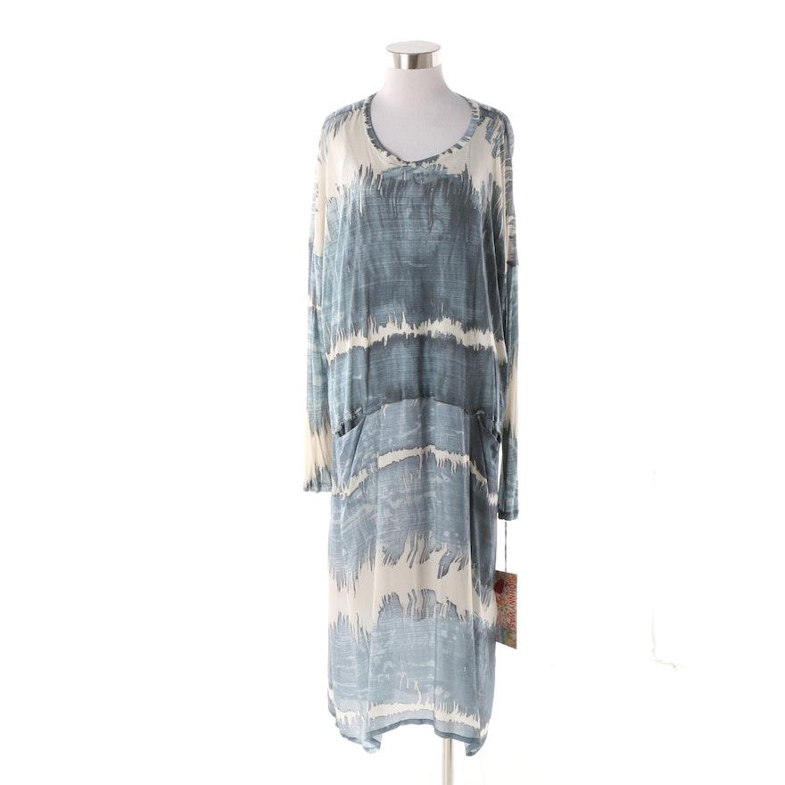 e5180e4cbe570 Johnny Was Atwood Mix Dress with Silk Slip : EBTH