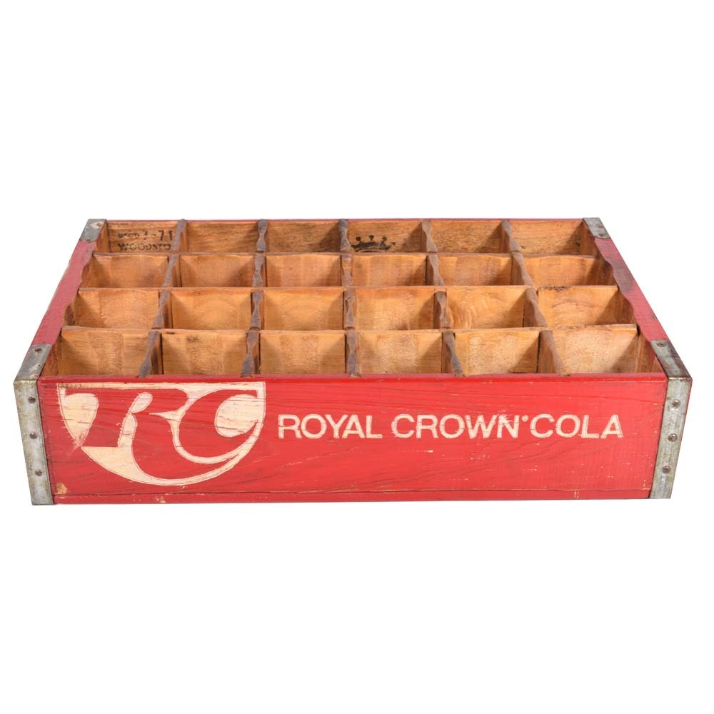 Vintage Royal Crown Cola Crate