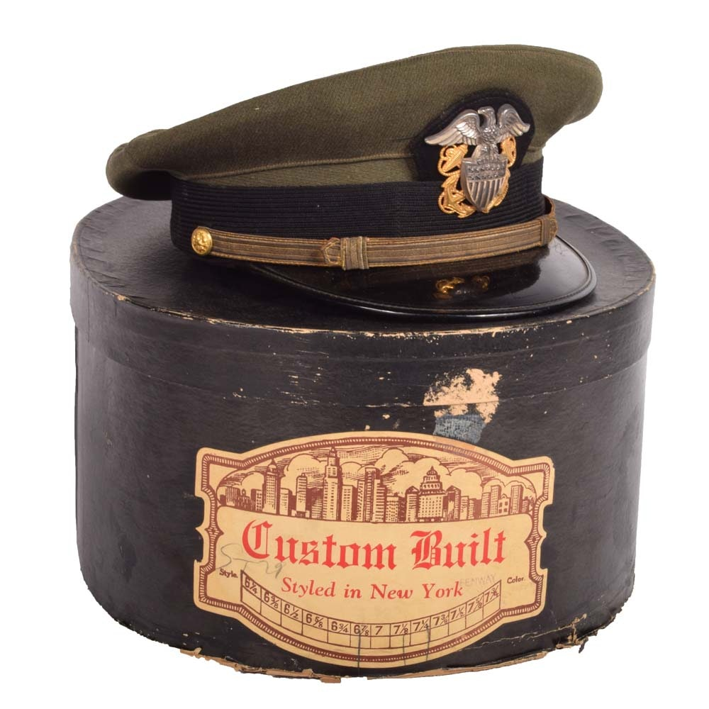 Vintage Army Dress Uniform Hat