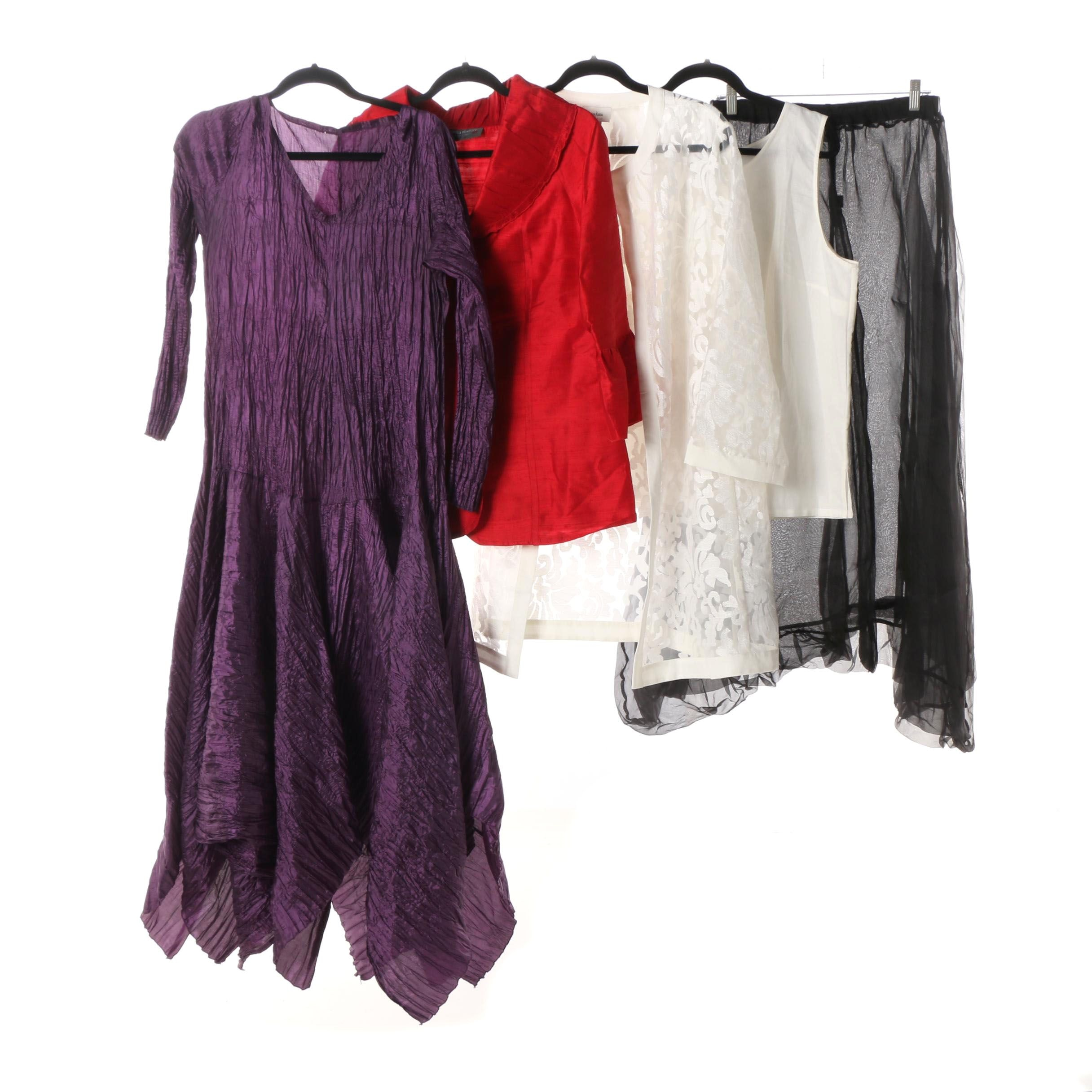Women S Silk Evening Wear With Neiman Marcus Exclusive And Others Ebth