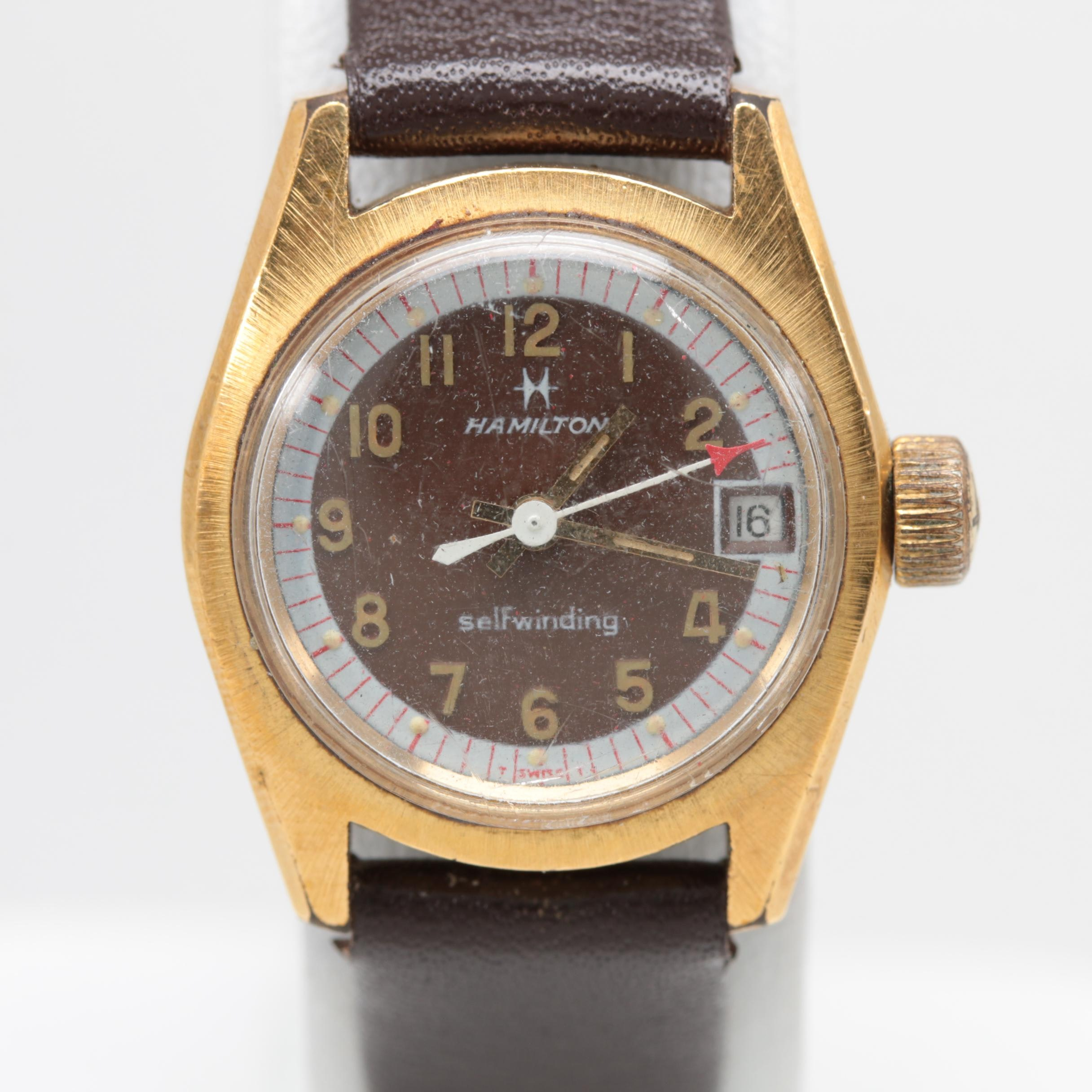 Hamilton Automatic Wristwatch With Date Window