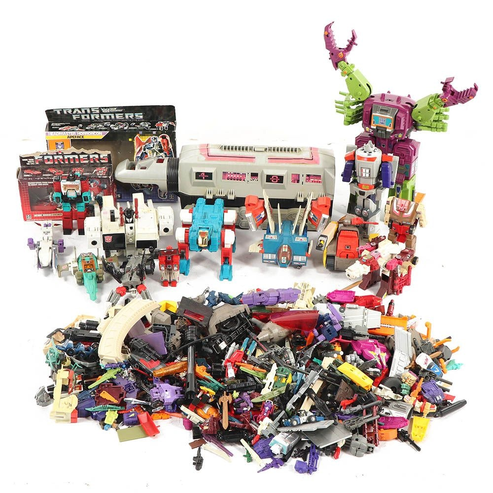 Transformers and Other Toys with Accessories