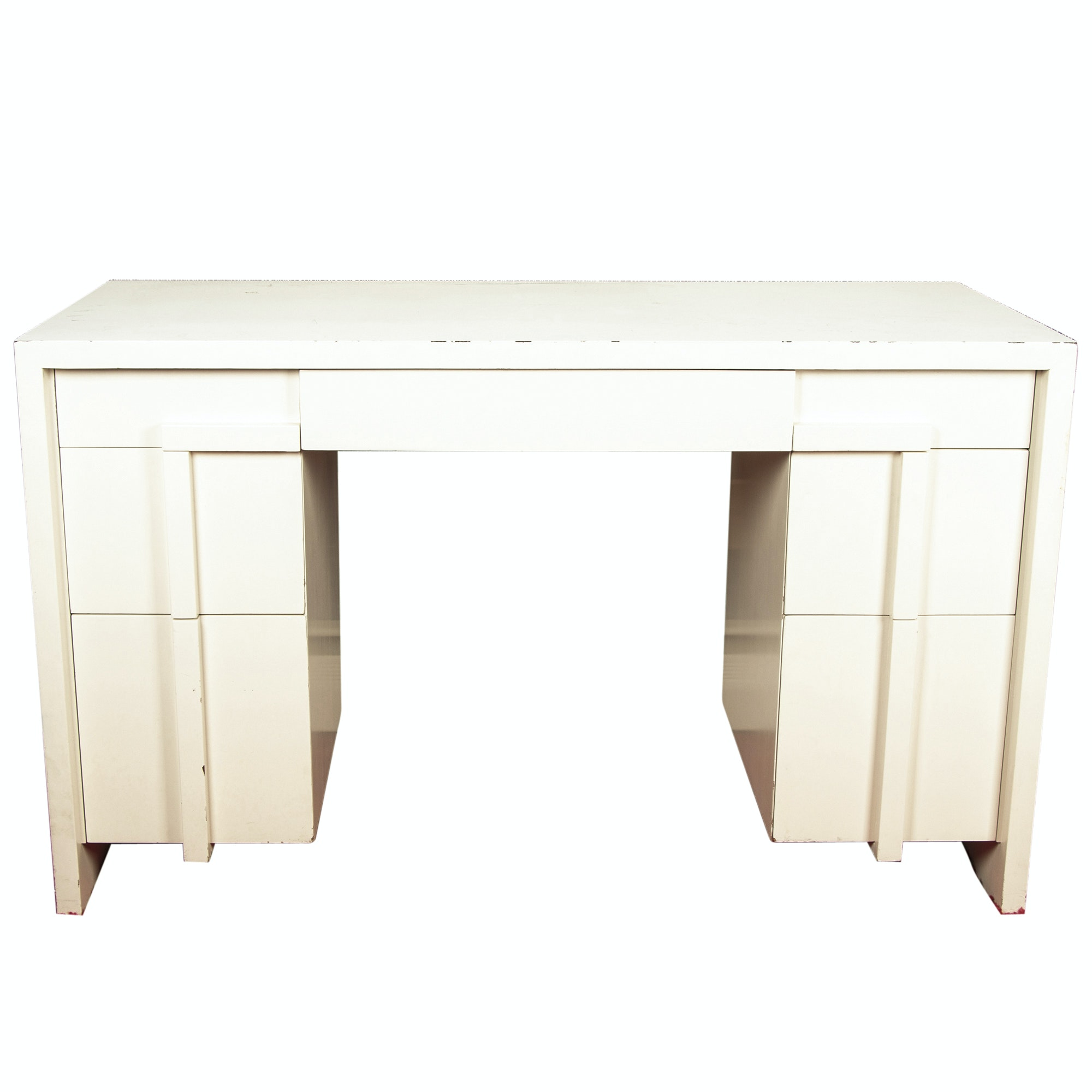 Mid Century Modern Painted Wood Desk by Widdicomb, Mid-20th Century