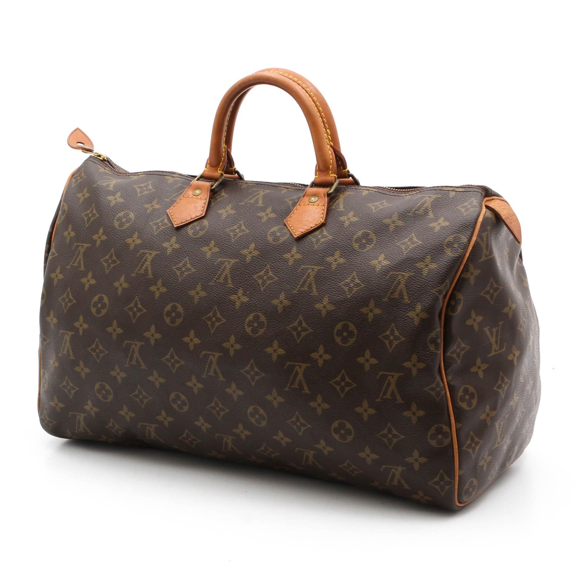 Louis Vuitton of Paris Speedy 40 Monogram Handbag