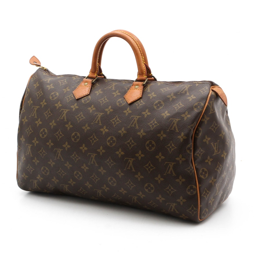 04915c038aa7 Louis Vuitton of Paris Speedy 40 Monogram Handbag   EBTH