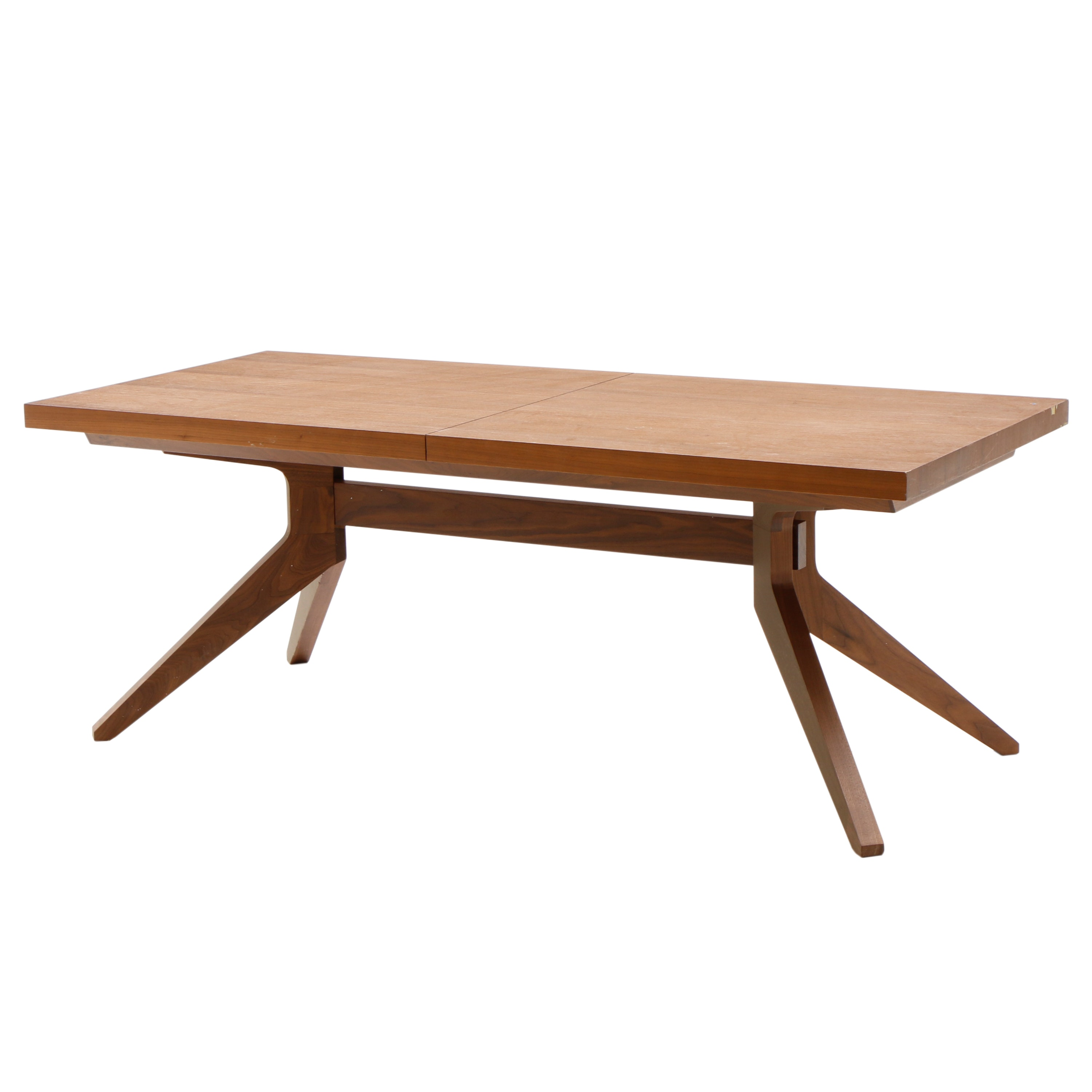 """Contemporary Oak """"Cross Extension Table"""" by Matthew Hilton for Case"""