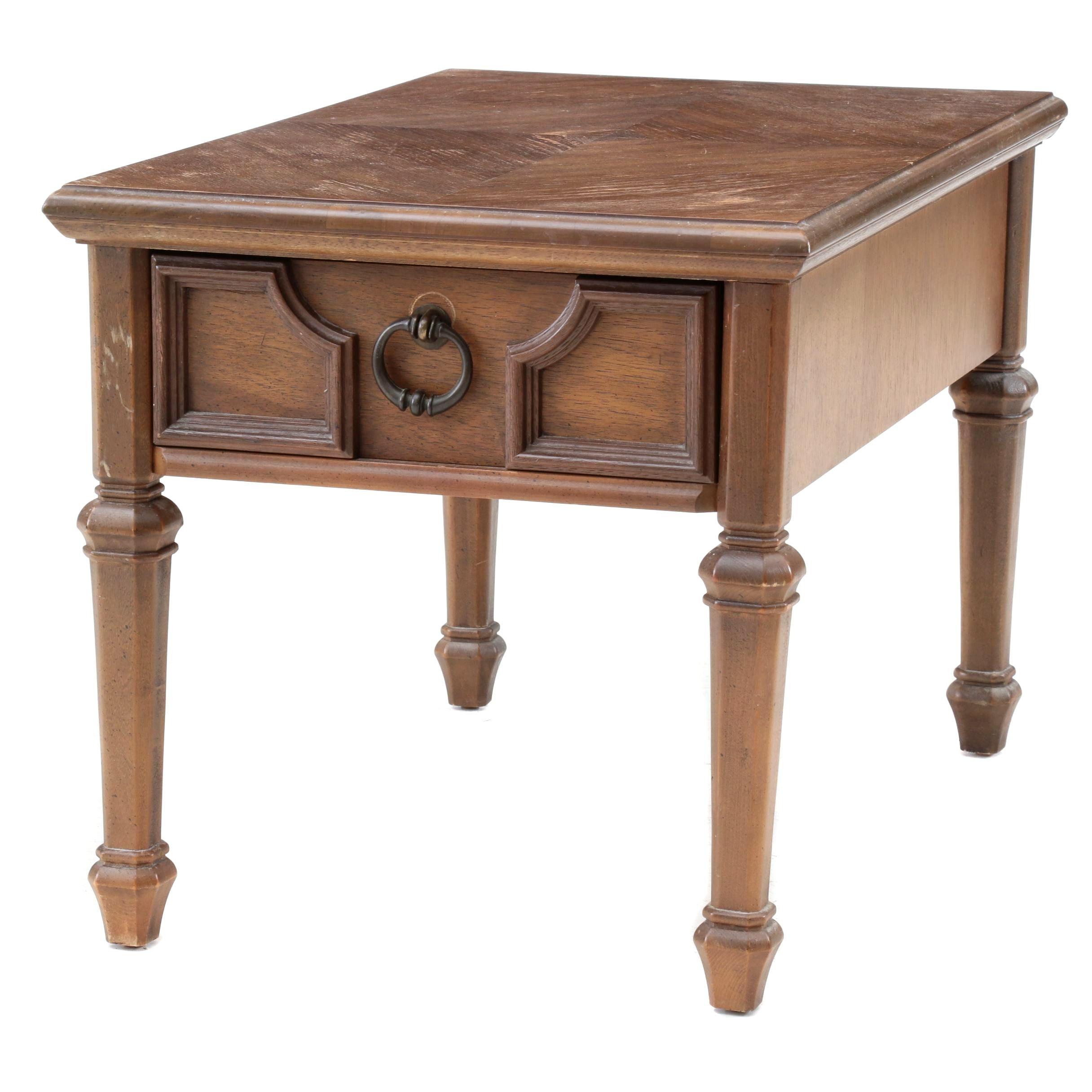 Stanley Furniture Mediterranean Style End Table