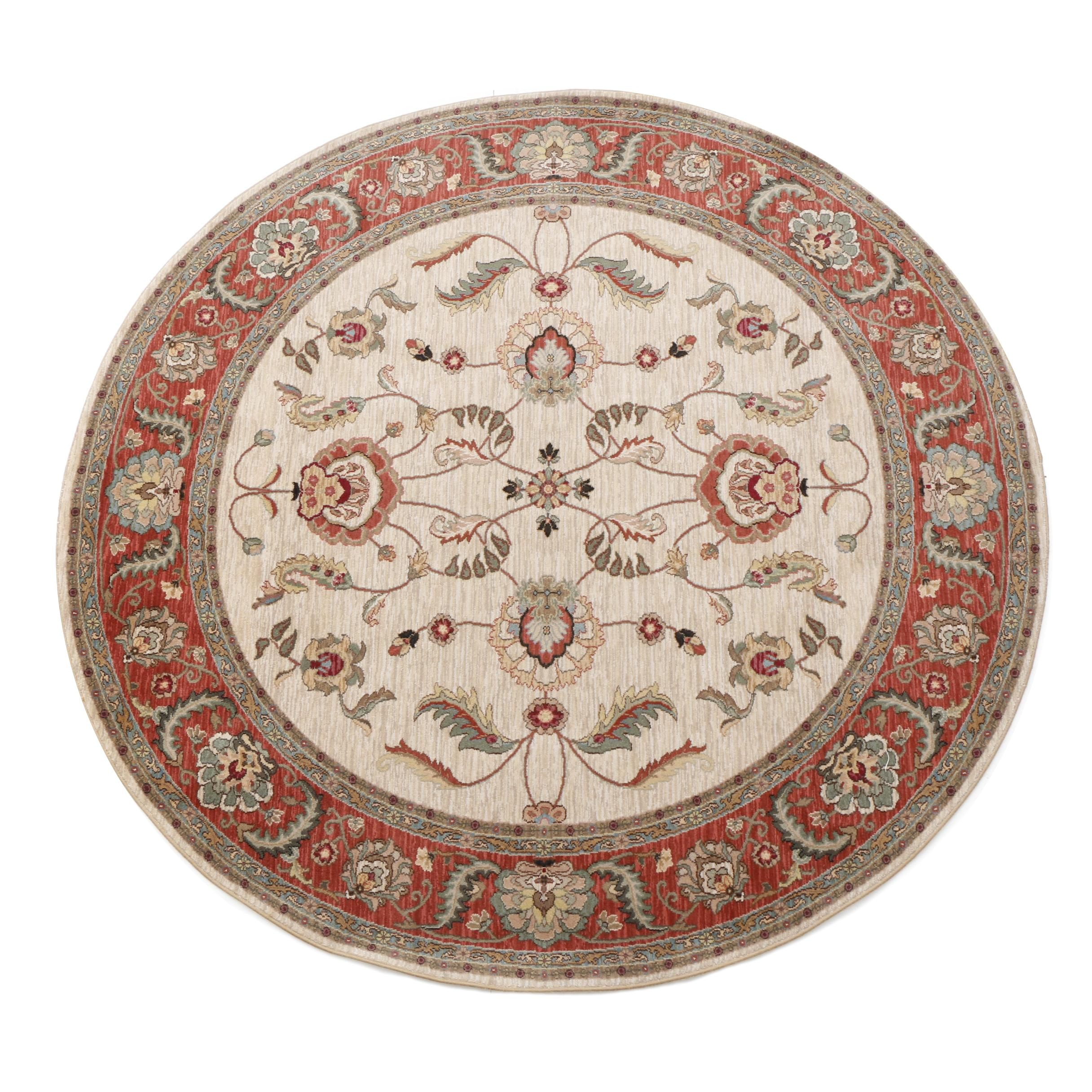 "Machine Made Karastan ""Ashara"" Round Area Rug"