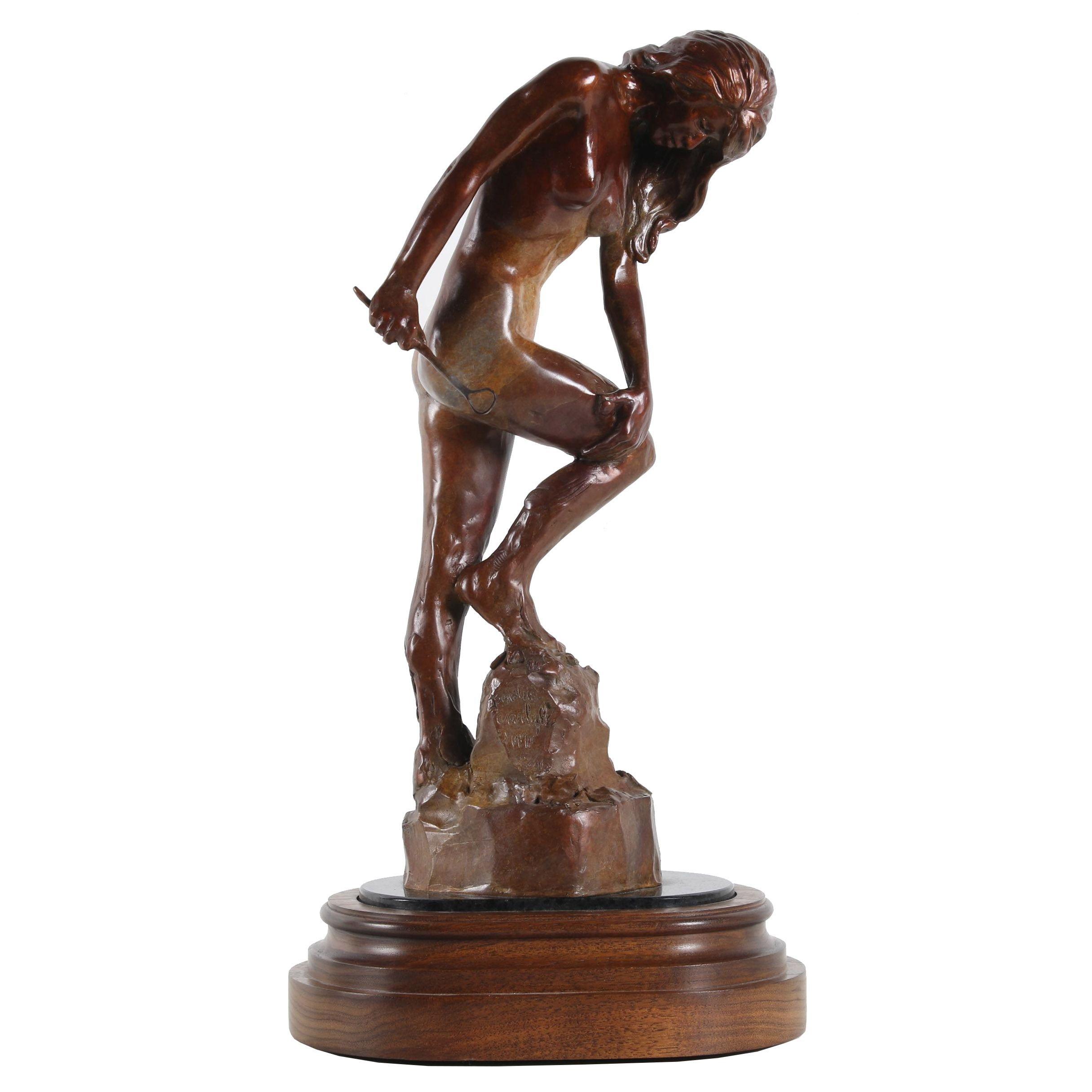 """Bobbie Carlyle Bronze Sculpture """"In Process"""""""