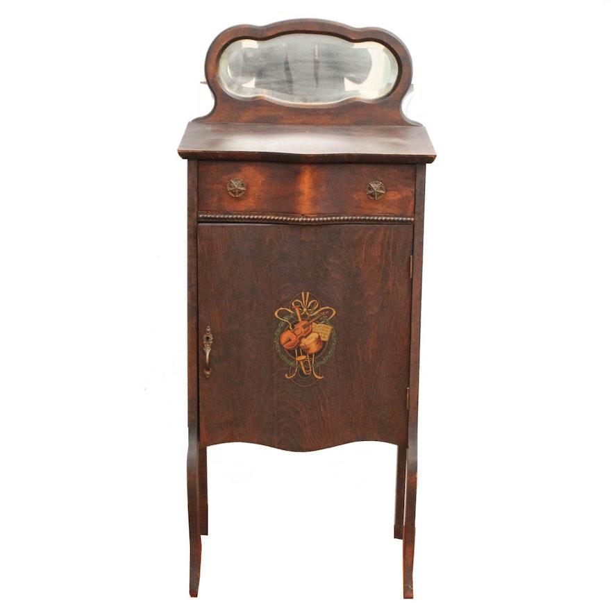 Antique Wooden Vanity Table ... - Antique Wooden Vanity Table : EBTH