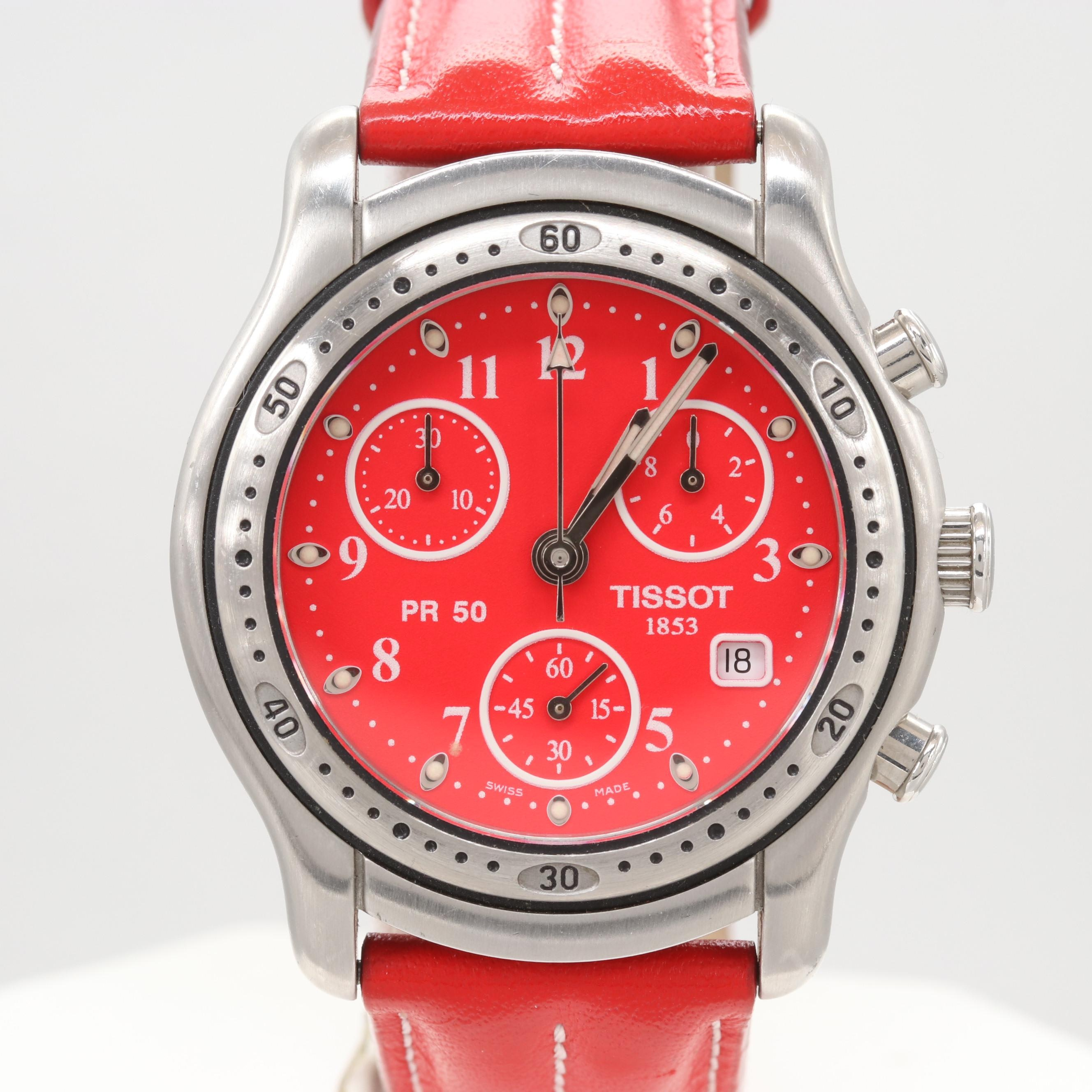 Tissot PR50 Quartz Chronograph Wristwatch