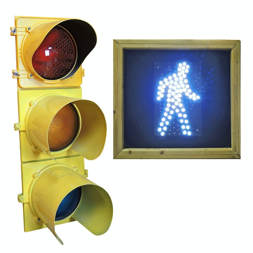 Automatic Traffic Signal Light and Pedestrian Signal