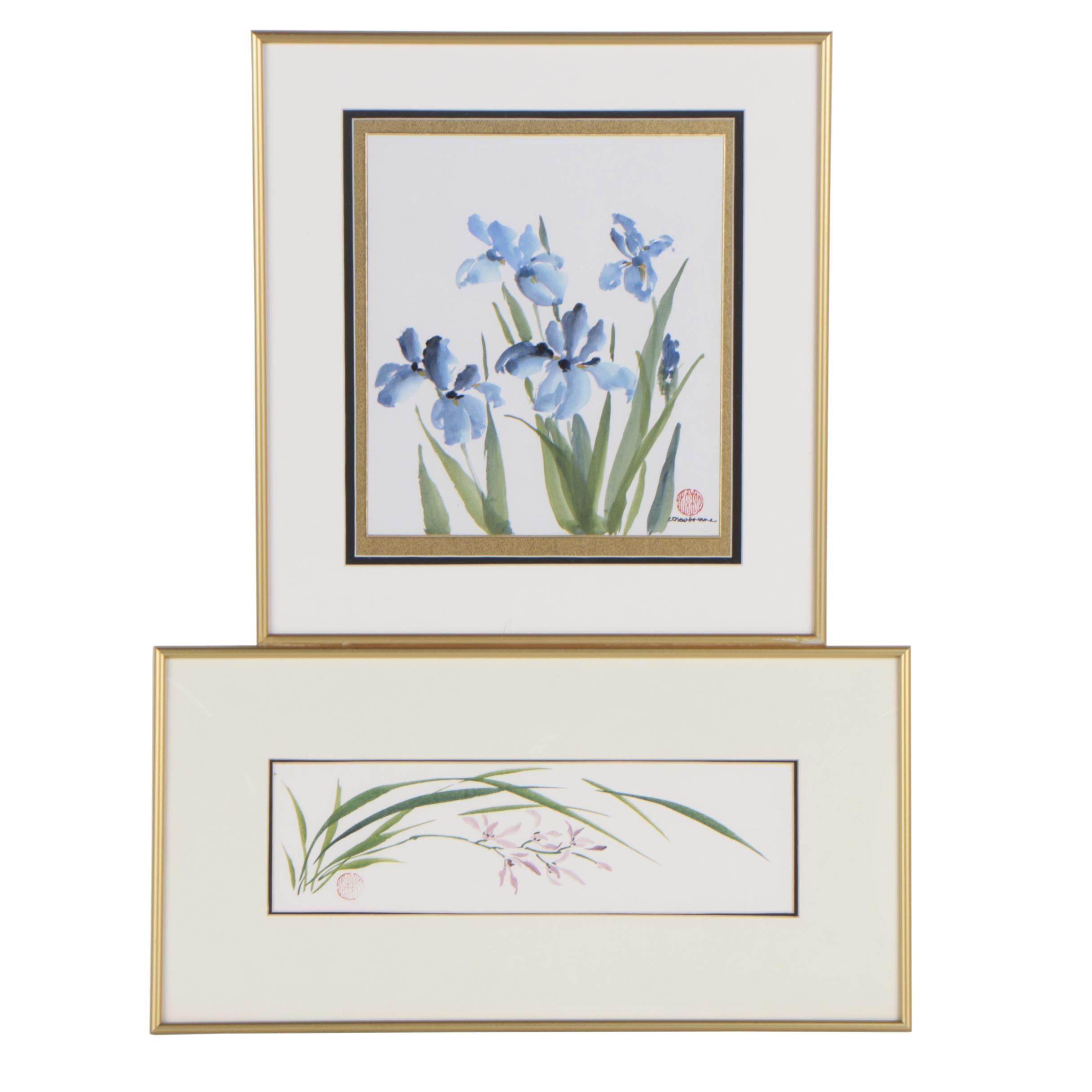 E. T. Newbourne Watercolors